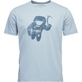 Black Diamond Spaceshot Kurzarm T-Shirt Herren stone blue